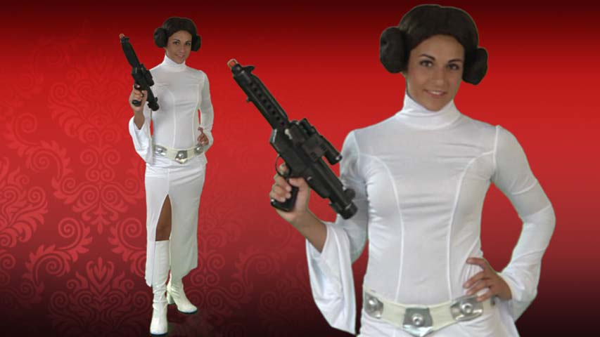 Princess Leia White Dress Costume