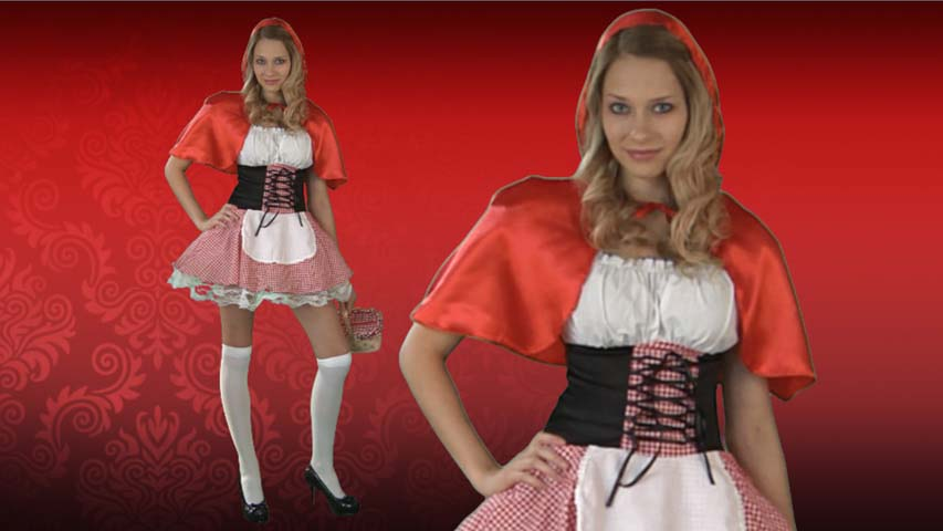 Red Riding Hood Costume Video