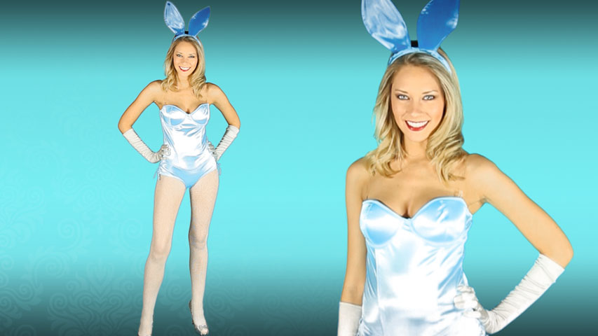 Sexy Blue Bunny Costume