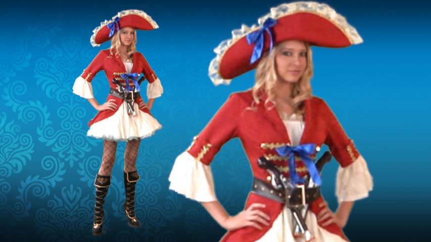 Sexy Captain Morgan Costume