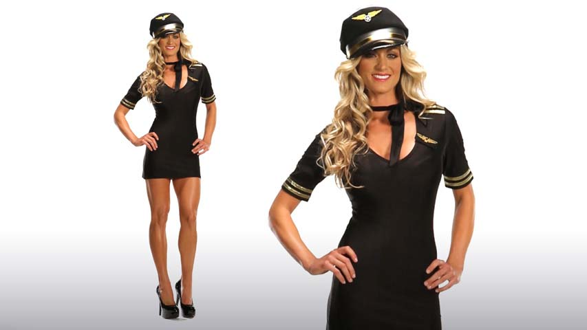 Sexy Pilot Costume