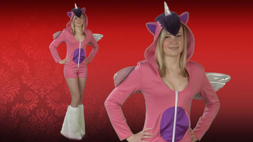 Sexy Pink Pony Costume