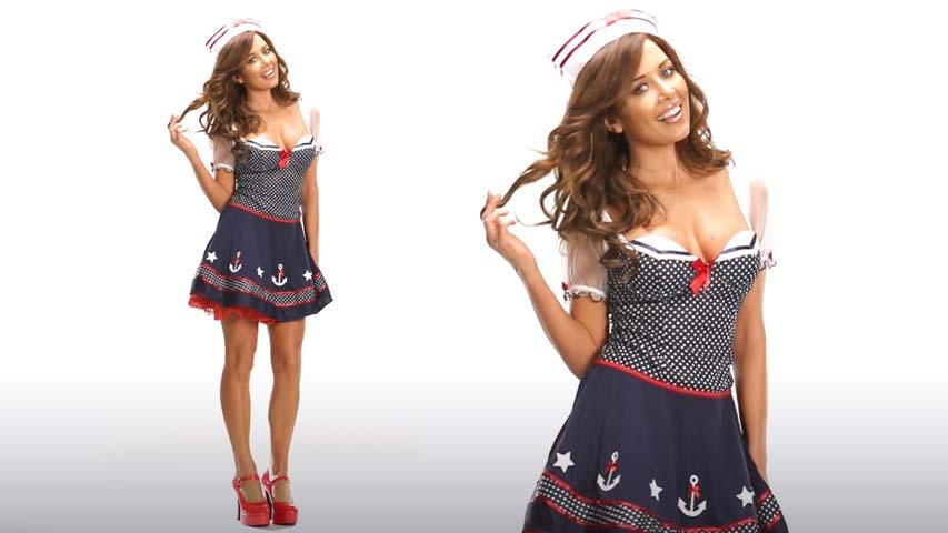 Polka Dot Sailor Costume