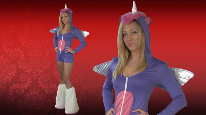 Sexy Purple Pony Costume