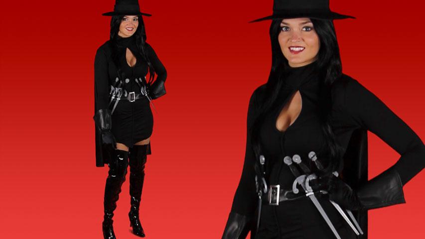 Sexy V is for Vendetta Costume