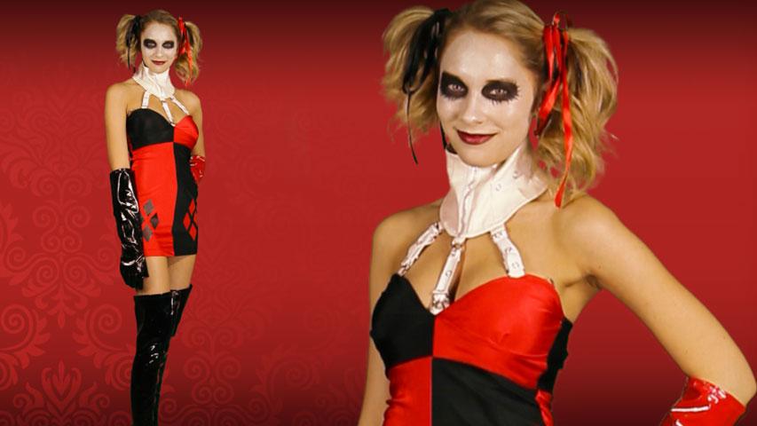 Sexy Villain Harley Quinn Costume