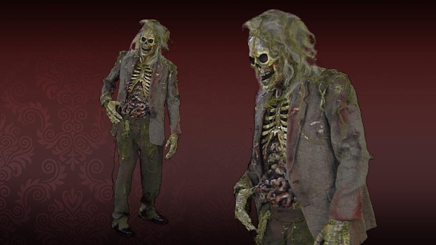 Swamp Nate Zombie Costume