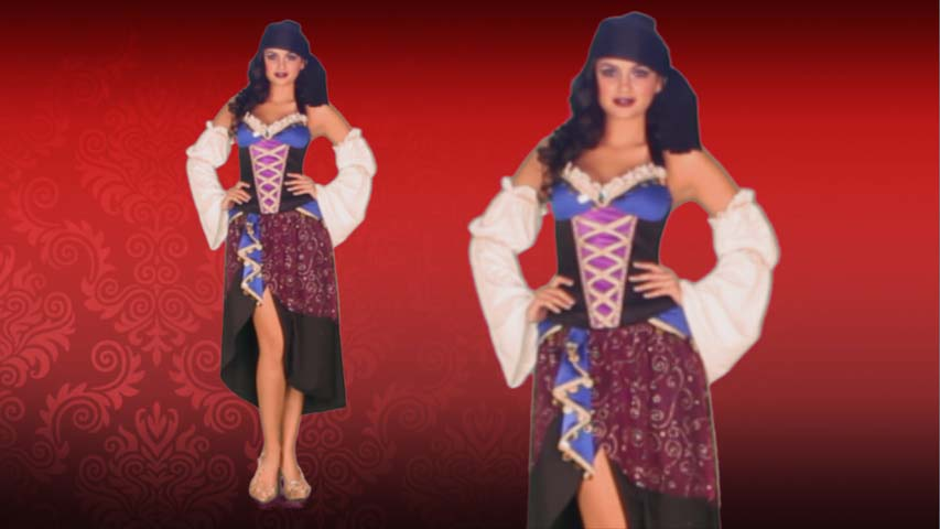 Tarot Card Gypsy Costume