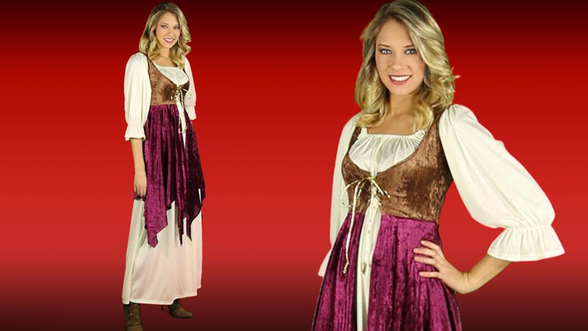 Tavern Lady Renaissance Costume