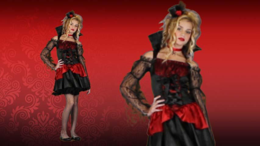 Teen Victorian Vampire Costume