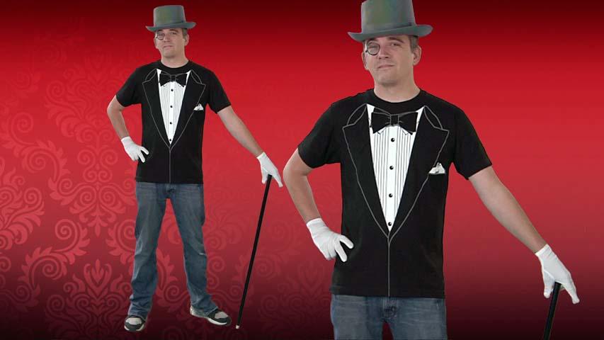 Tuxedo Costume T-Shirt
