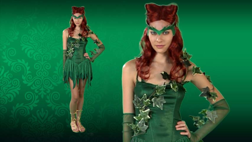 Vicious Green Vixen Costume
