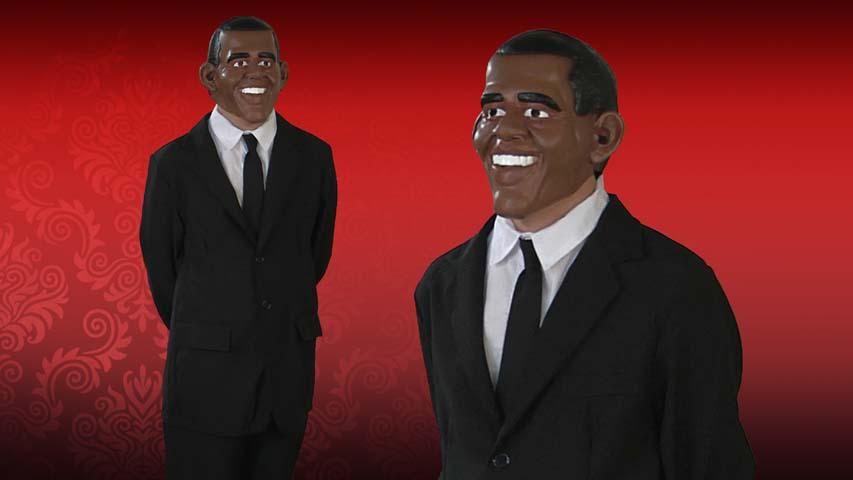 Vinyl Obama Mask
