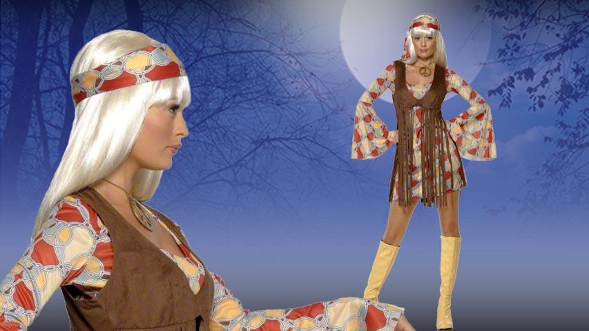 Women's 1960s Groovy Baby Costume