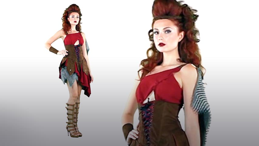 Womens Deadly Huntress Costume