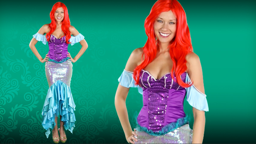 Women's Disney Deluxe Ariel Costume