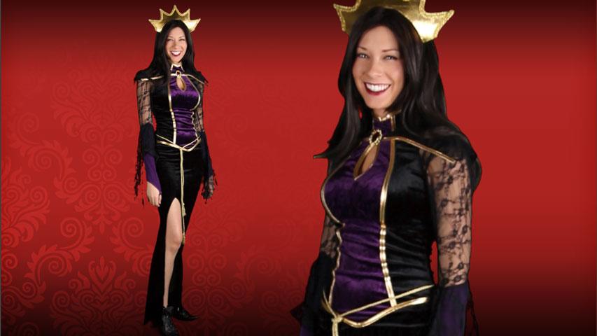 Womens Disney Evil Queen Costume