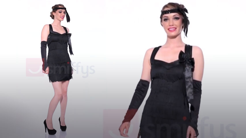 Women's Fever Foxy Flapper Costume