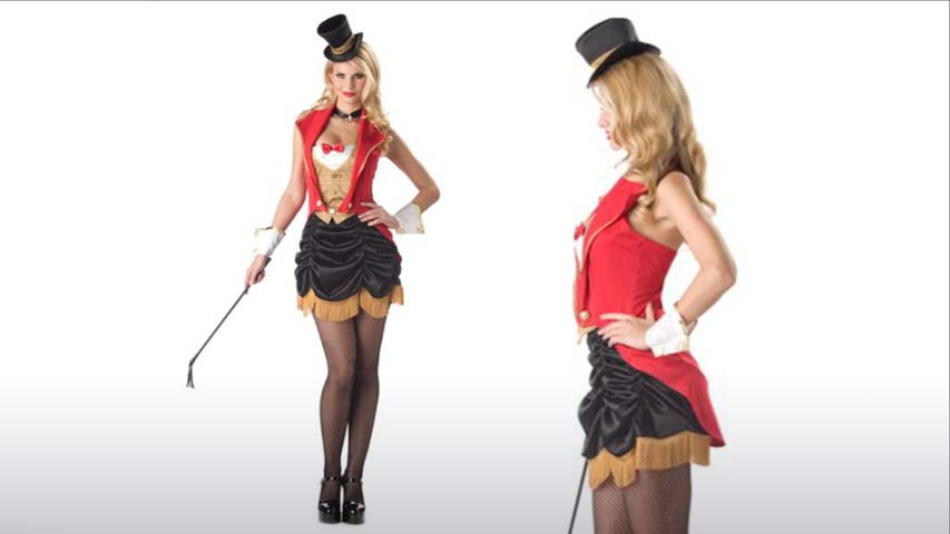 Womens Ring Master Costume