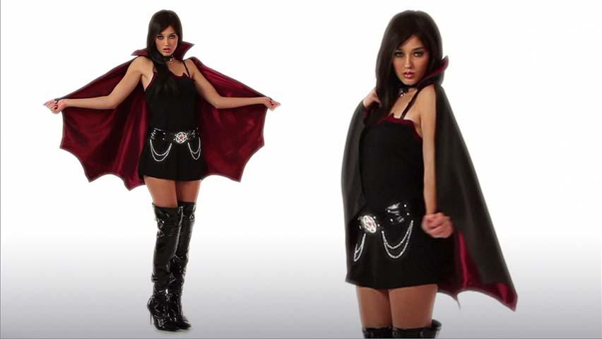 Women's Sexy Vampire Costume