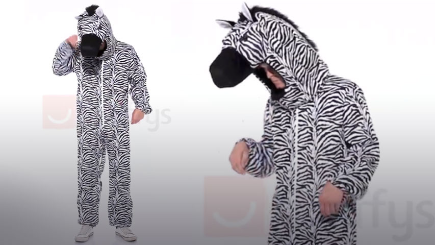 Zebra Costume For Adults